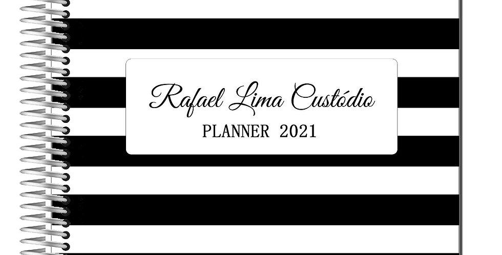 Planner Listras - Capa Plastificada