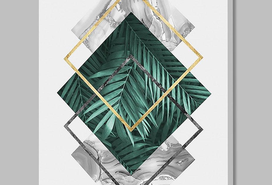 Placa Decorativa Personalizada Loose Leaves II