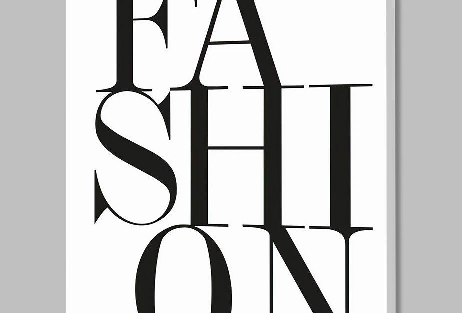 Placa Decorativa Personalizada Fashion