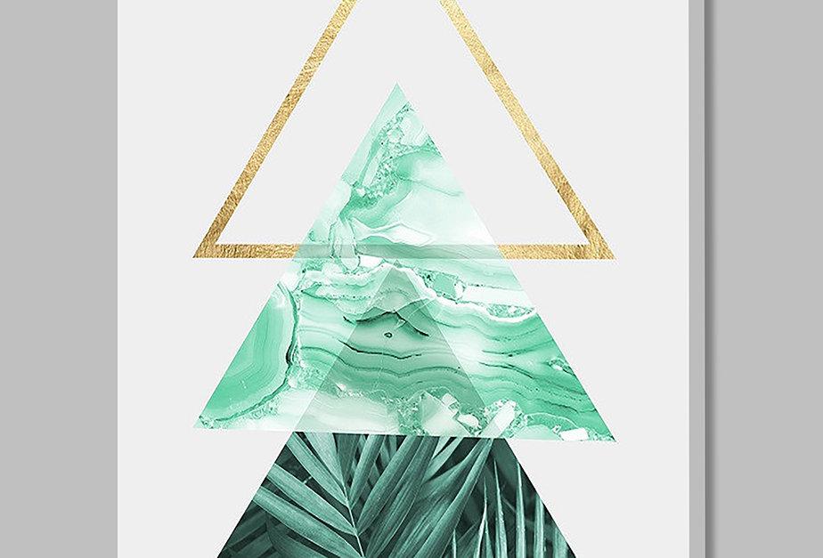 Placa Decorativa Personalizada Loose Leaves III