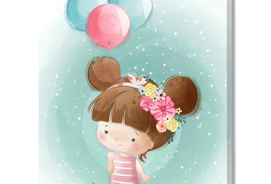 Placa Decorativa Personalizada Bambina