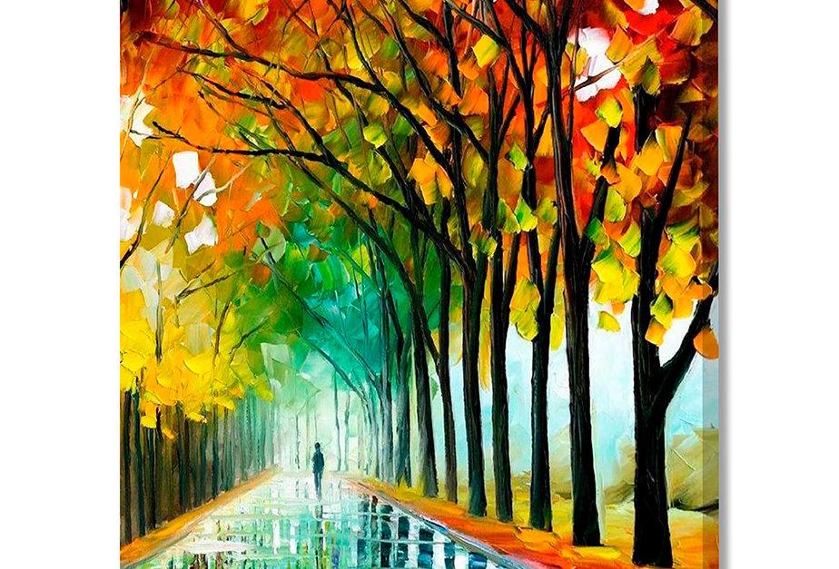 Placa Decorativa Personalizada Outono Colorido