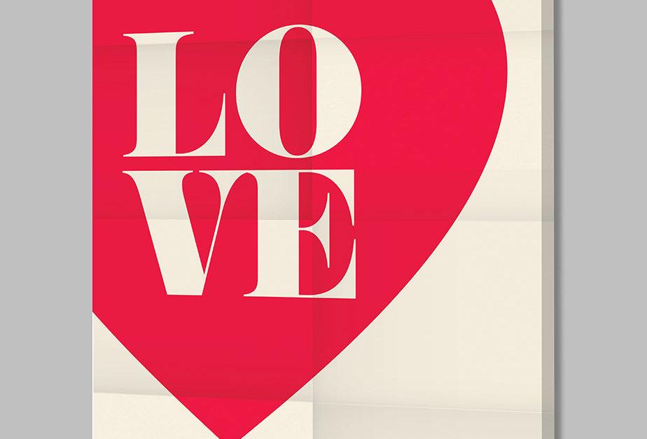 Placa Decorativa Personalizada Love III