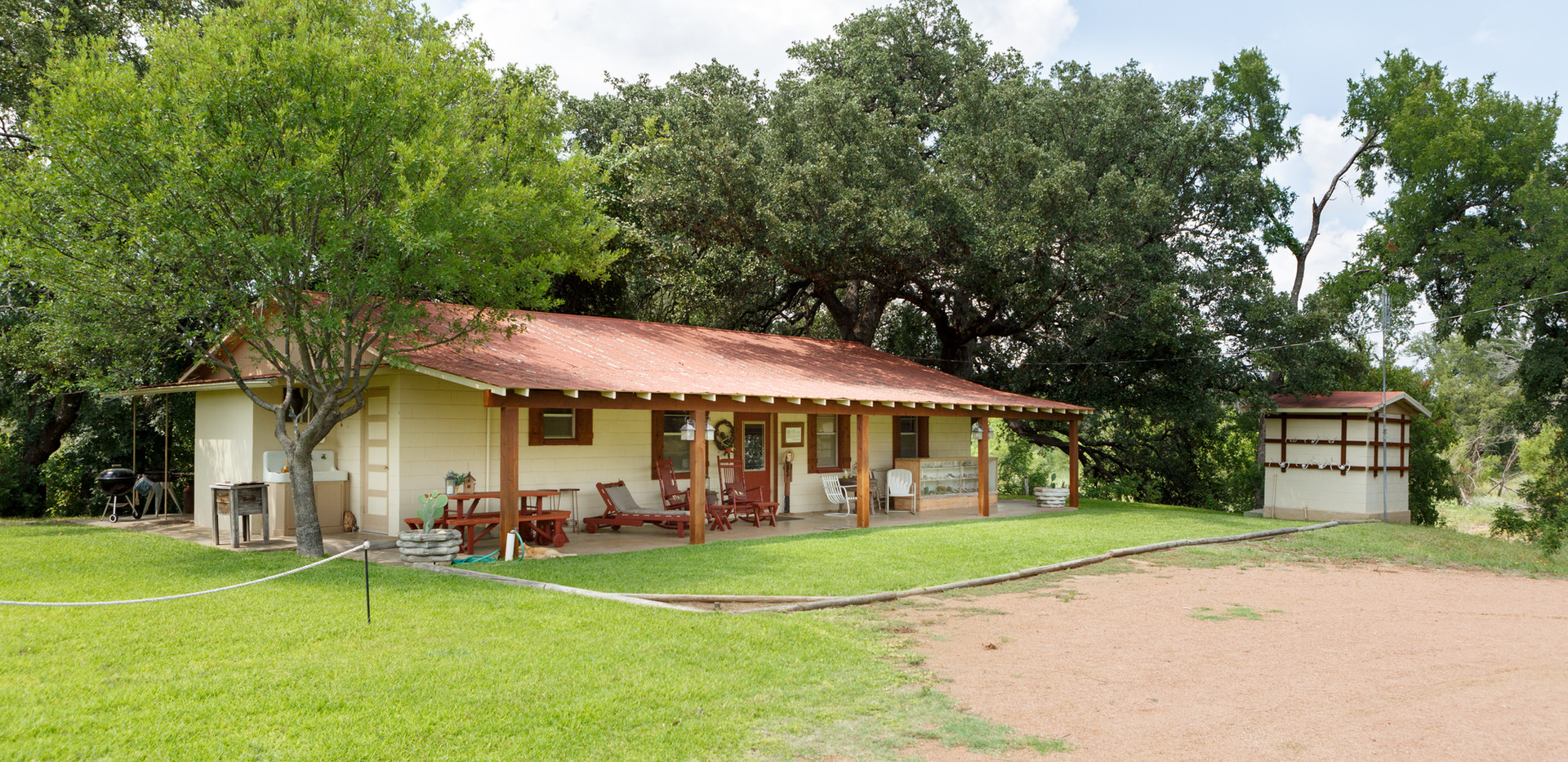 Lodging and accommodations for Century Ranch Hunting in Llano, Texas