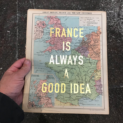FRANCE IS ALWAYS A GOOD IDEA - 1