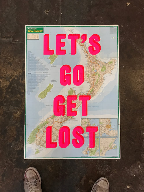 LET'S GO GET LOST - NEW ZEALAND