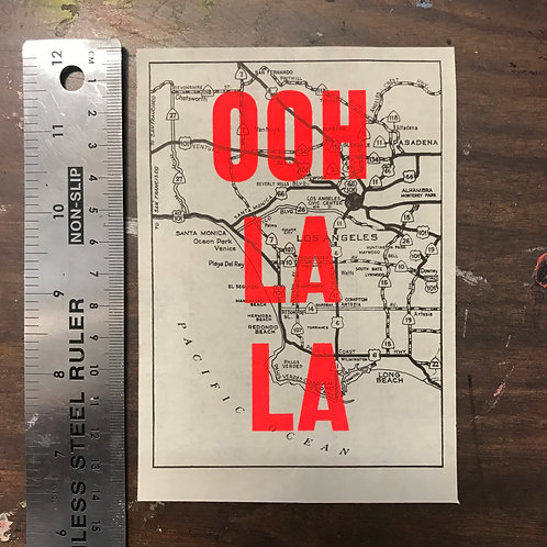 OOH LA LA - LOS ANGELES