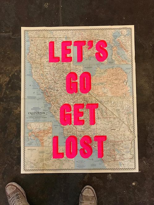 LET'S GO GET LOST - CALIFORNIA