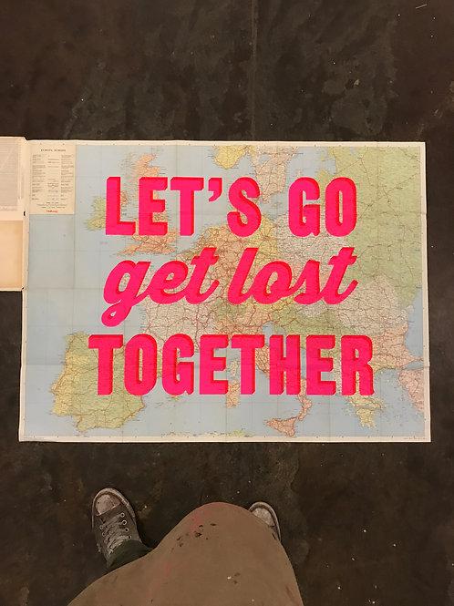 LET'S GO GET LOST TOGETHER -EUROPE (PAPER)