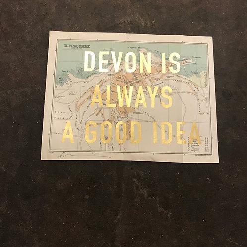 DEVON IS ALWAYS A GOOD IDEA - ILFRACOMBE