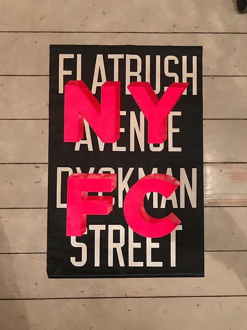 NEW YORK FUCKING CITY - FLATBUSH AVENUE