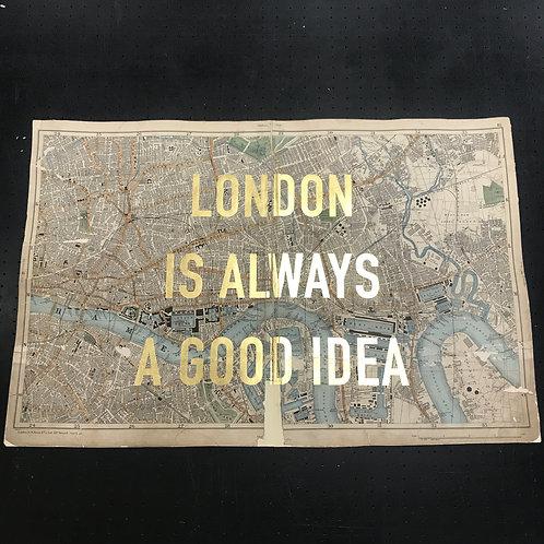 LONDON IS ALWAYS A GOOD IDEA - LONDON DOCKS