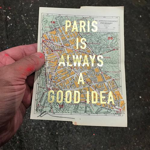 PARIS IS ALWAYS A GOOD IDEA - 11e ARRONDISSEMENT POPINCOURT