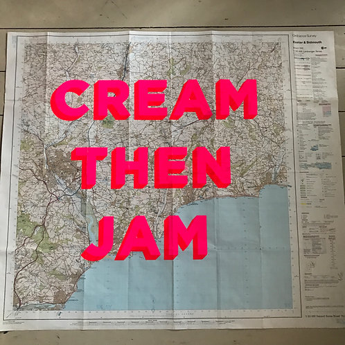 CREAM THEN JAM - EXETER AND SIDMOUTH