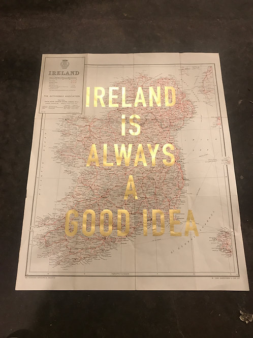 IRELAND IS ALWAYS A GOOD IDEA - Red and Black