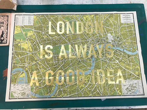 LONDON IS ALWAYS A GOOD IDEA - GREEN