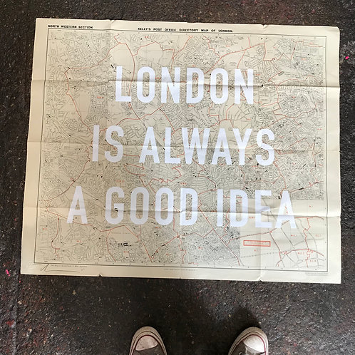 LONDON IS ALWAYS A GOOD IDEA - NORTH WEST
