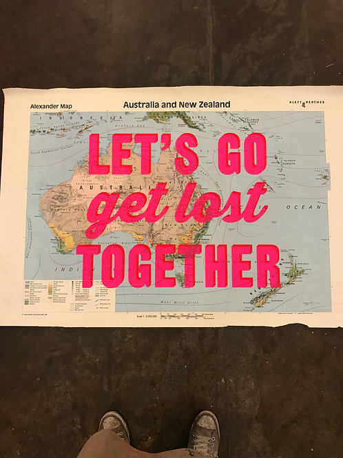 LET'S GO GET LOST TOGETHER - AUSTRALIA AND NEW ZEALAND