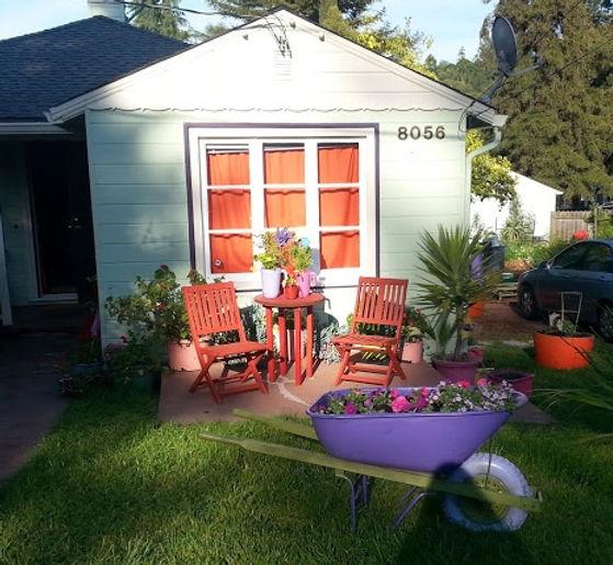 Recalimed design elements Furniture, Pots, Plants and Wheel barrow