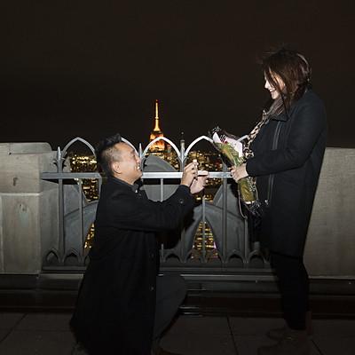 K&D proposal at Rockefeller Center