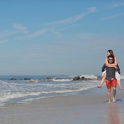 Engagement at Long Beach