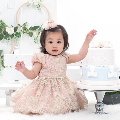 Alexandra 1 year Baby
