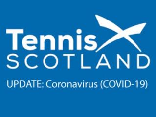 Tennis Scotland Coronavirus Update