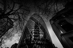La City de Londres et son impressionnant Gherkin.