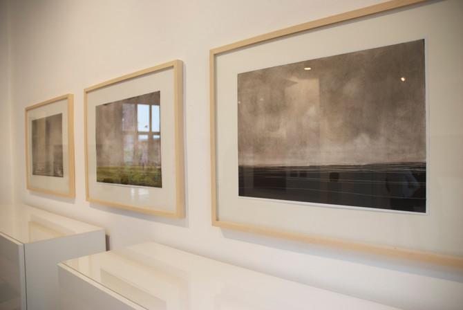 galerie nelly 5, aschaffenburg, ohne titel, öl auf papier, 59,5 x 42