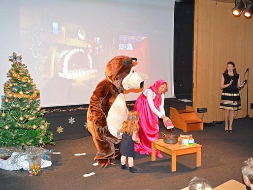 Интерактивный спектакль-мюзикл «Новогодние приключения Маши и Медведя»