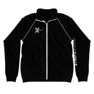 Xcel-Logo-White_Stripe-Squad_mockup_Fron