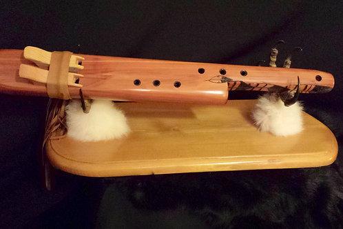Duet Flute in Red Cedar