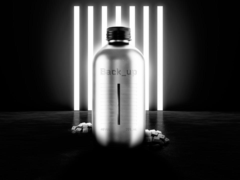 Vodka Back_up /  Упаковка