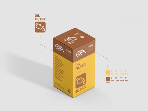 ECCA Filters / Упаковка