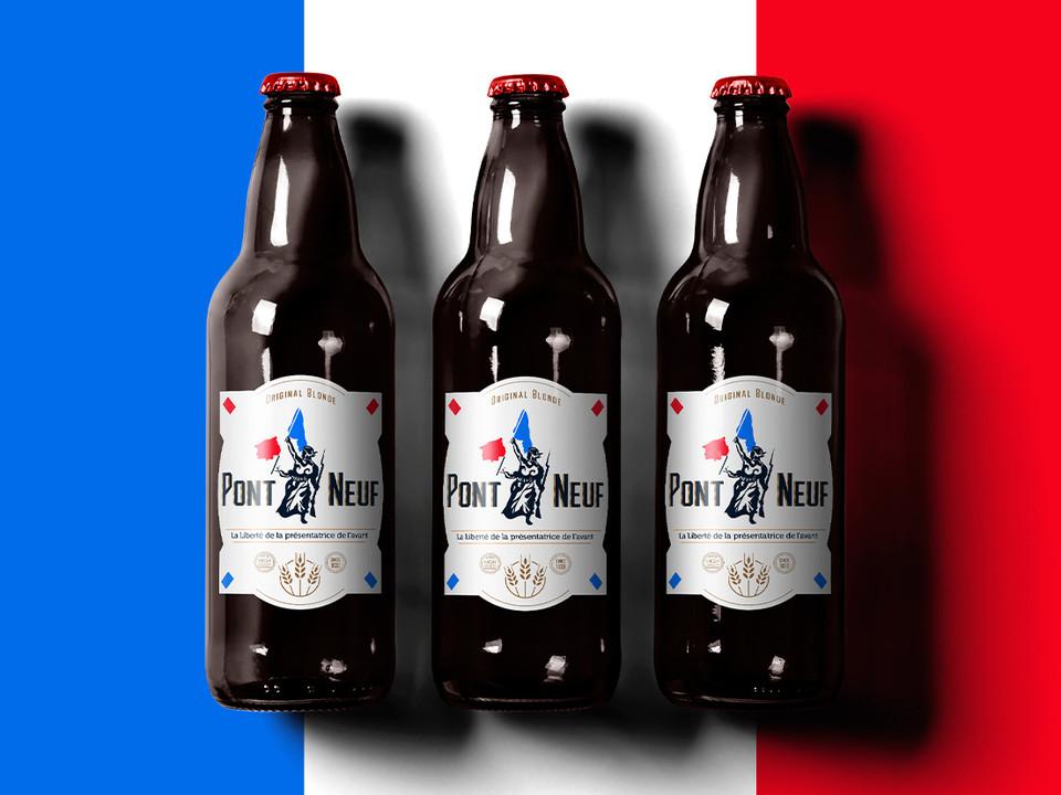 Pont Neuf / Beer - Дизайн этикеток