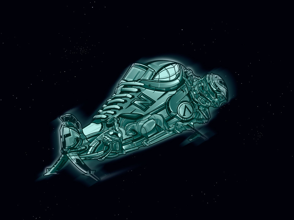 Illustrations / SNEAKERS SPACE - Иллюстрации