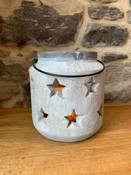 Stone Star Lantern