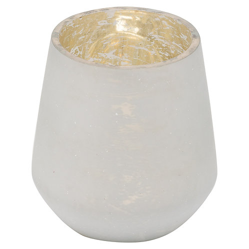 Noel Collection White Tealight Holder - Small