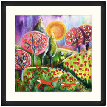 Day Out With Mum Unframed Art Print