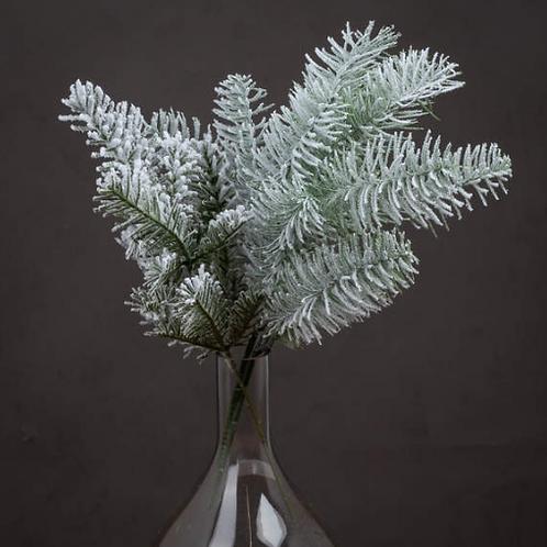Single Snow Pine Spray