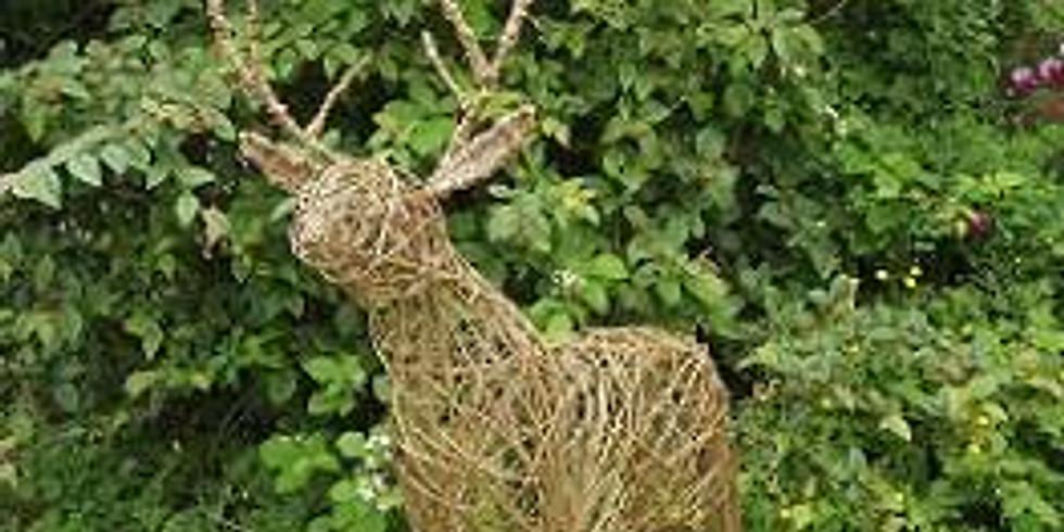 Willow Weaving Reindeer Workshop