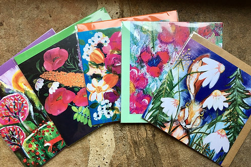 Mixed Cards - Pack of 5