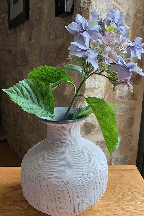 Squat Stone Vase