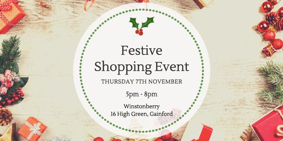 Festive Shopping Event