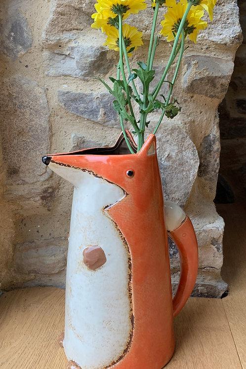 Ceramic Fox Jug