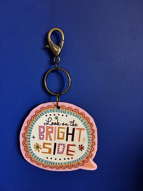 Bright Side Keyring