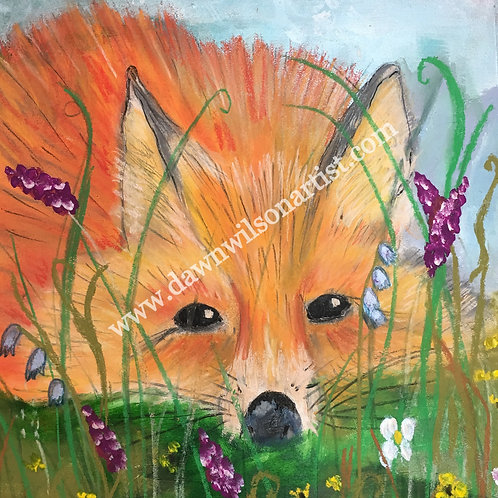Mr. Fox Fine Art Print (unframed)