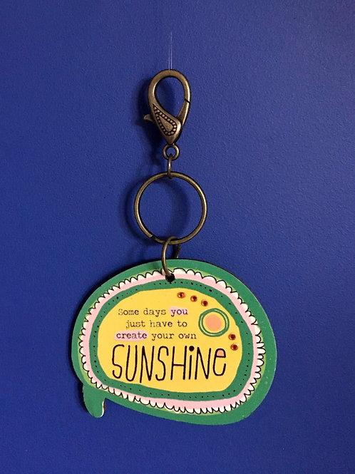 Sunshine Keyring