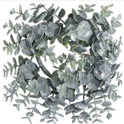 Frosted Eucalyptus Wreath Medium