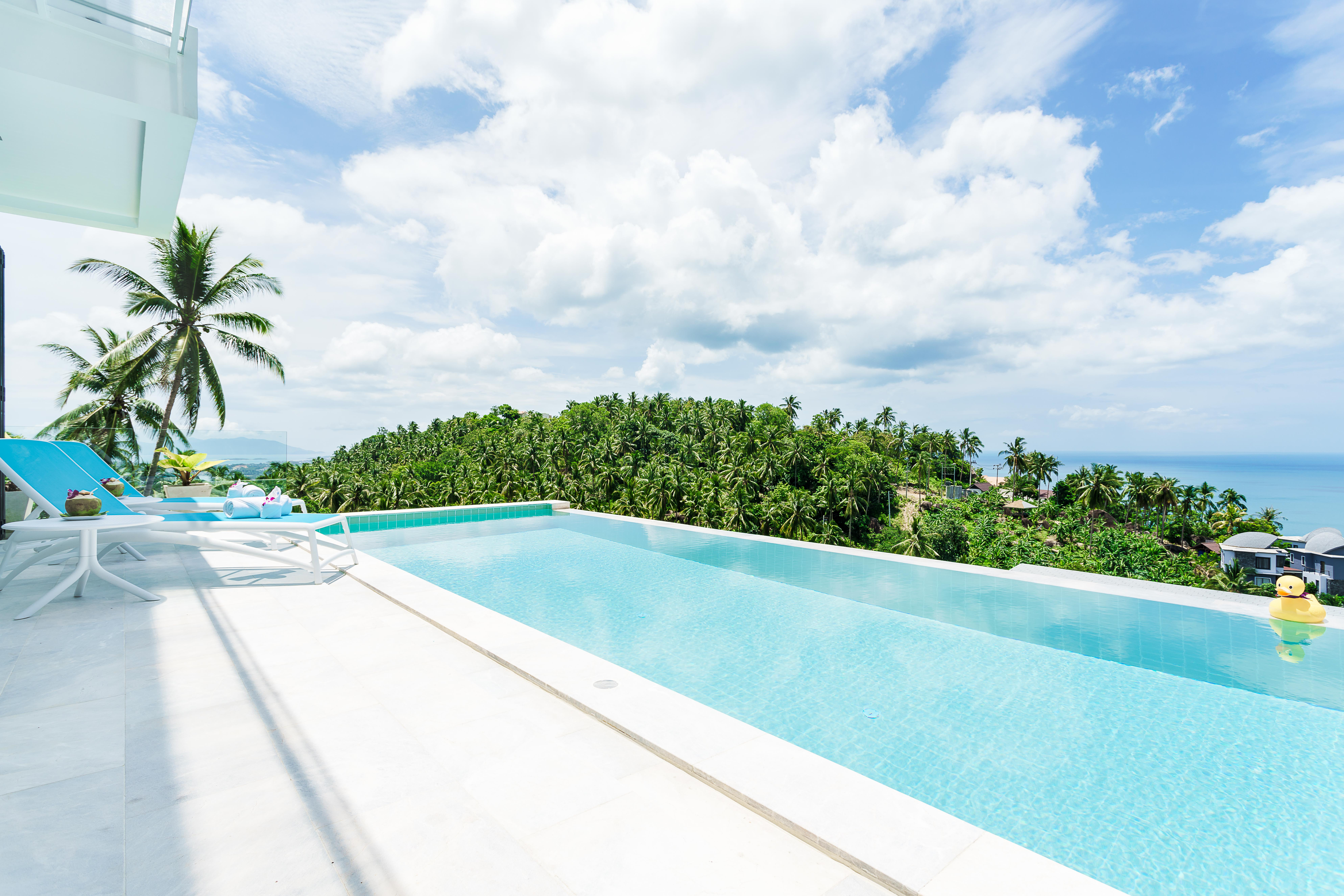 Villa melo koh samui for Koh tao cabana koi pool villa